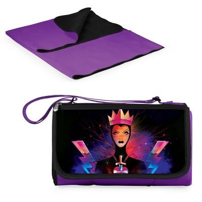 Picnic Time Disney: Evil Queen Blanket Tote Outdoor Picnic Blanket - Purple