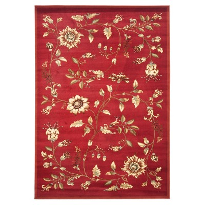 Clare Floral Loomed Accent Rug - Safavieh