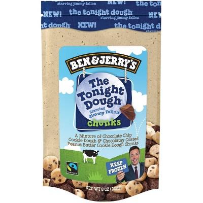 Ben & Jerry's Dough Chunks Tonight Dough - 8oz
