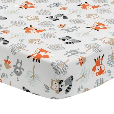 Bedtime Originals Woodland Friends Fitted Crib Sheet