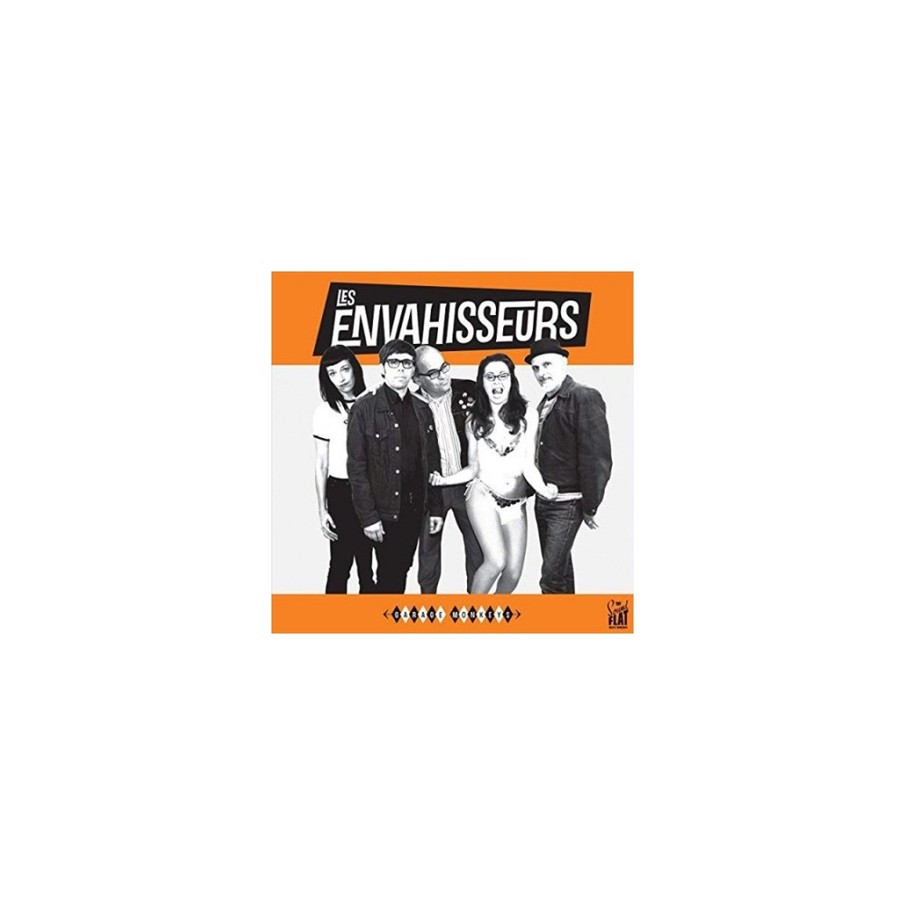 Les Envahisseurs - Garage Monkeys (Vinyl)