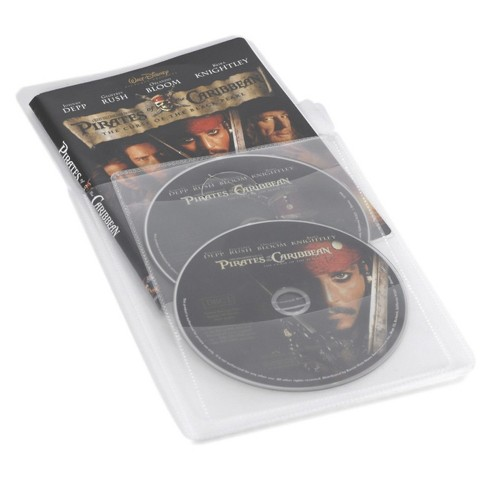 Movie Sleeves w/ Double Disc Insert - image 1 of 1