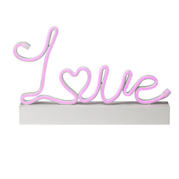 Valentine's Day Faux Neon LED Tabletop Love Sign - Spritz™ - image 1 of 1