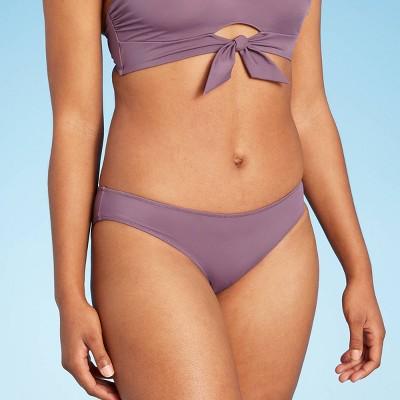 Women's Hipster Bikini Bottom - Shade & Shore™ Dark Mauve