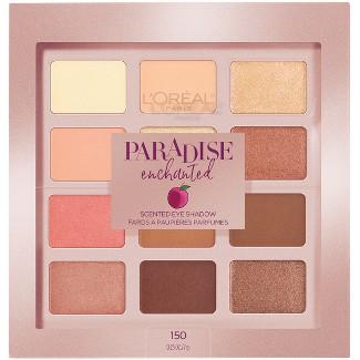 LOréal Paris Paradise Enchanted Scented Eyeshadow Palette - 0.25 fl oz