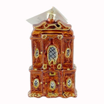 Christopher Radko Mon Armoire Ornament Hutch Mouse  -  Tree Ornaments