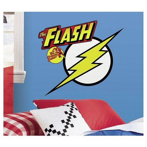 RoomMates Classic Flash Logo Peel and Stick Giant Wall Decals - image 1 of 2