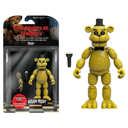Five Nights at Freddy's - Gold Freddy Action Figure - image 1 of 1