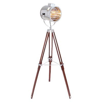 Lumisource Wood/Steel Ahoy Floor Lamp