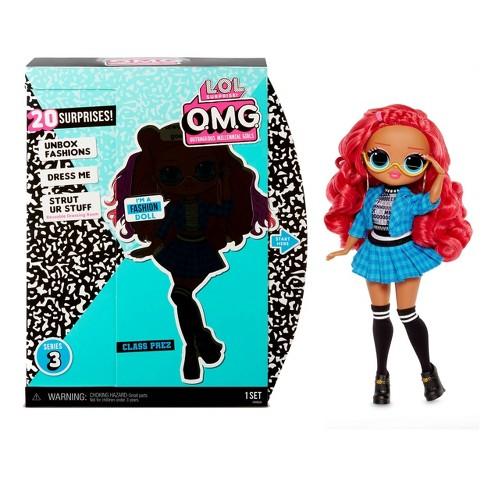 L.O.L. Surprise! O.M.G. Series 3 Class Prez Fashion Doll with 20 Surprises - image 1 of 4