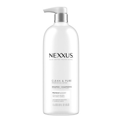 Nexxus Clean and Pure Clarifying Shampoo for Nourished Hair with ProteinFusion - 33.8 fl oz