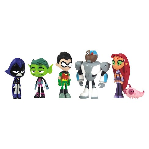 "Teen Titans Go- 2"" 6 pack - image 1 of 2"