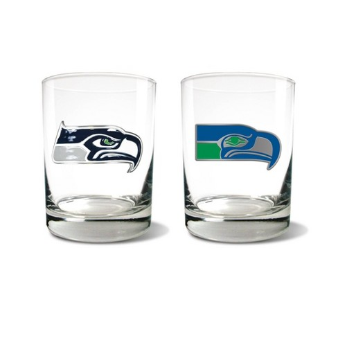 NFL Seattle Seahawks Rocks Glass Set - 2pc - image 1 of 1