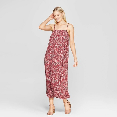 95001695b728 Women's Paisley Print Sleeveless Maxi Dress - Knox Rose™ Mahogany. Shop all  Knox Rose