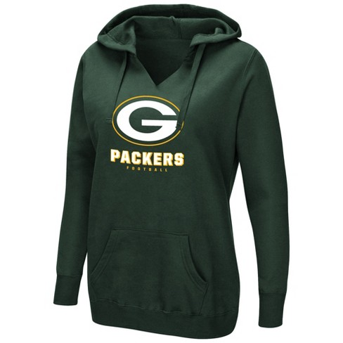 brand new f9e4c a5f35 NFL Green Bay Packers Women's Shape It Up Plus Size Hoodie
