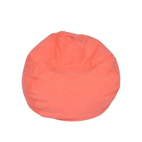 Large Micro Suede Bean Bag Chair - ACEssentials - image 1 of 4