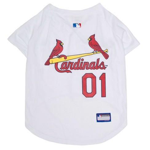 meet 91a25 331e2 MLB Pets First Pet Baseball Jersey - St. Louis Cardinals