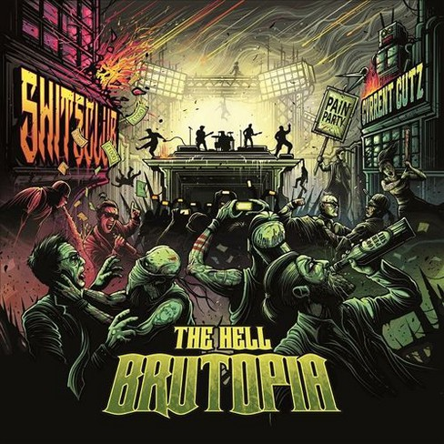 Hell - Brutopia (CD) - image 1 of 1