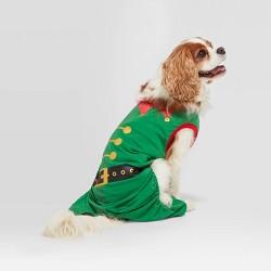 Holiday Elf Cat & Dog Pajamas - Wondershop™ Green