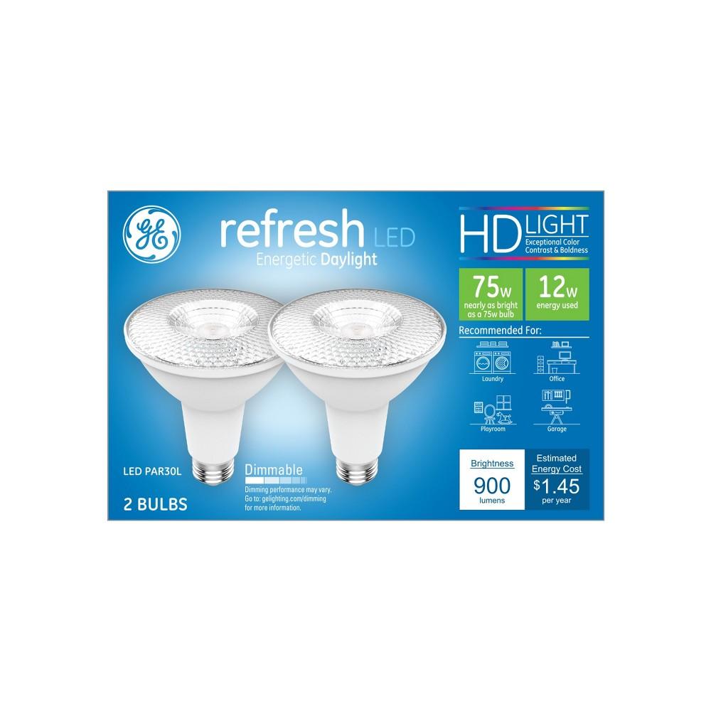 General Electric 75w Refresh Led Light Bulb Dl Par30 Long Neck