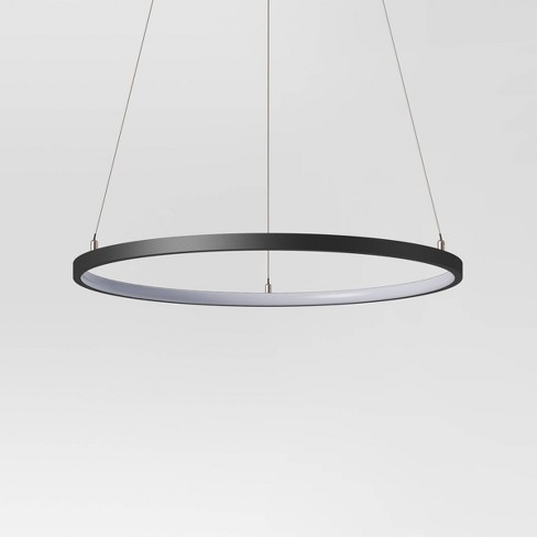 25 Led Neon Pendant Lamp Black Project 62 Target