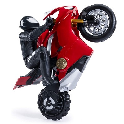 Upriser Ducati Authentic Panigale V4 S Remote Control Motorcycle with Removable Rider, Display Stand, and USB Charger, Red