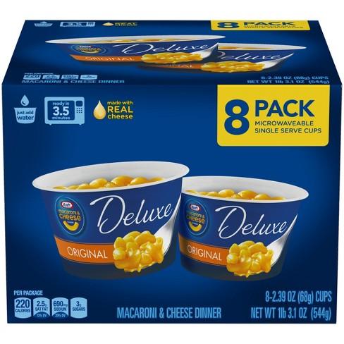 Kraft Deluxe Mac & Cheese Cups 8pk - 19