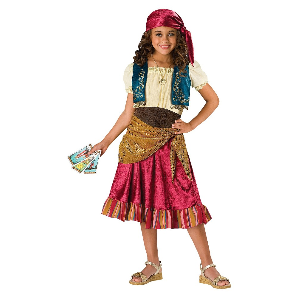 Image of Halloween Girls' Gypsy Costume Small (4-6), Girl's