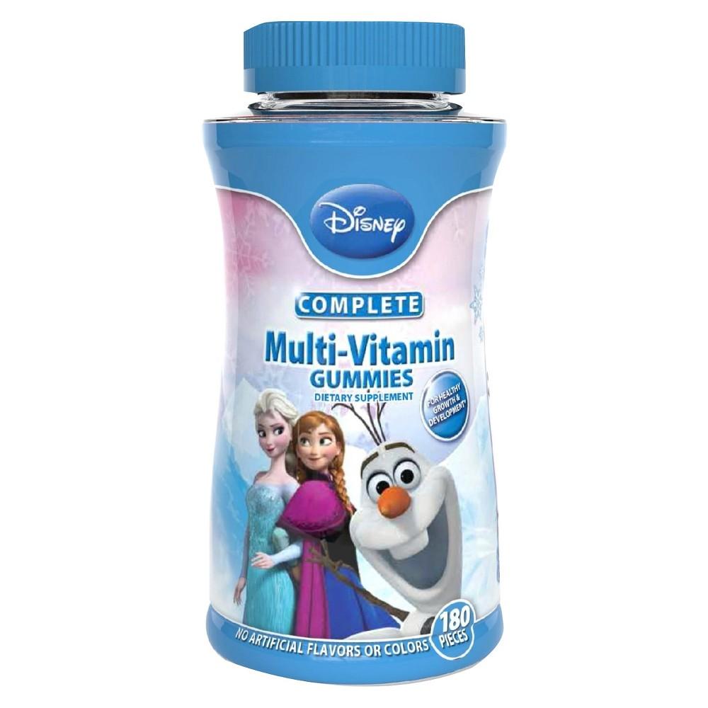 Disney Frozen Complete Multivitamin Gummies - Fruit Flavors - 180ct
