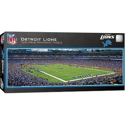 MasterPieces Inc Detroit Lions Stadium NFL 1000 Piece Panoramic Jigsaw Puzzle
