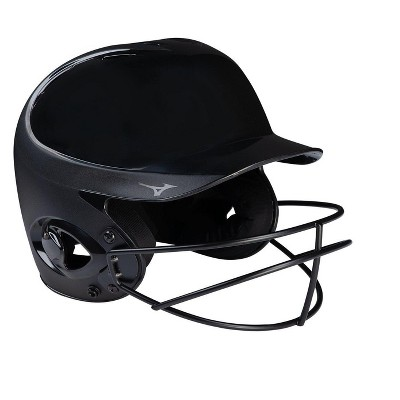 Mizuno Mvp Series Solid Batting Helmet With Fastpitch Softball Mask