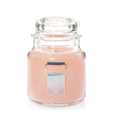 14.5oz Glass Jar Pink Sands Candle - Yankee Candle