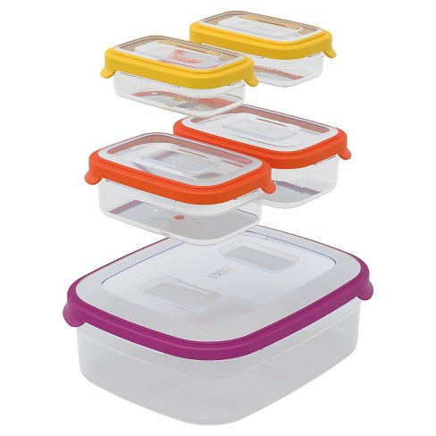 Joseph Joseph® Nest™ Storage Compact Food Storage Containers Set of 5 - Multicolored - image 1 of 3