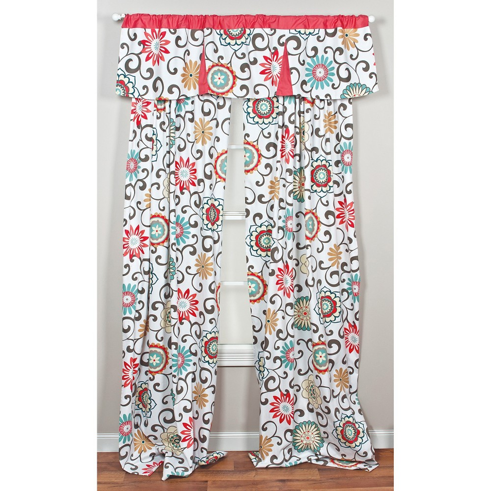 Image of Trend Lab Waverly Pom Pom Play Drape Panel