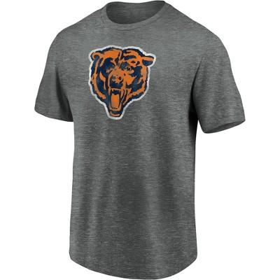 NFL Chicago Bears Men's Classic Vintage Logo Soft Touch T-Shirt