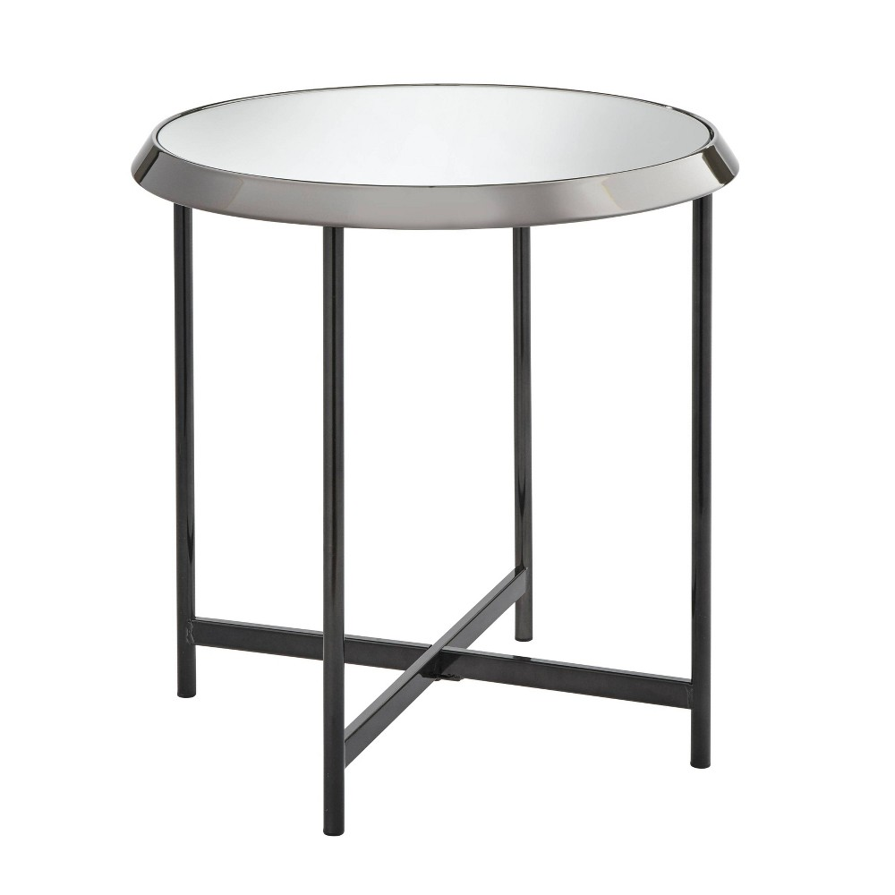 Carly End Table Black Nickel- Buylateral was $91.99 now $59.79 (35.0% off)