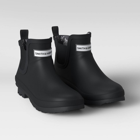 Rubber Ankle Rain Boots - Smith & Hawken™ - image 1 of 4