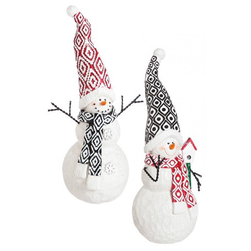 Polystone Classic Snowman Décor - image 1 of 1