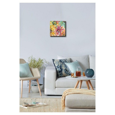 Abstracted Petals Ii By Silvia Vassileva Stretched Canvas Print : Target