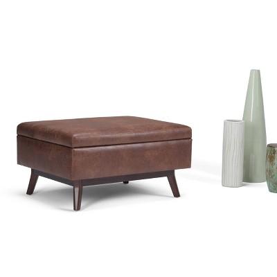 Ethan Coffee Table Storage Ottoman - WyndenHall : Target