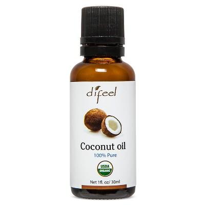 Difeel Pure Essential Coconut Women's Oil - 1 fl oz