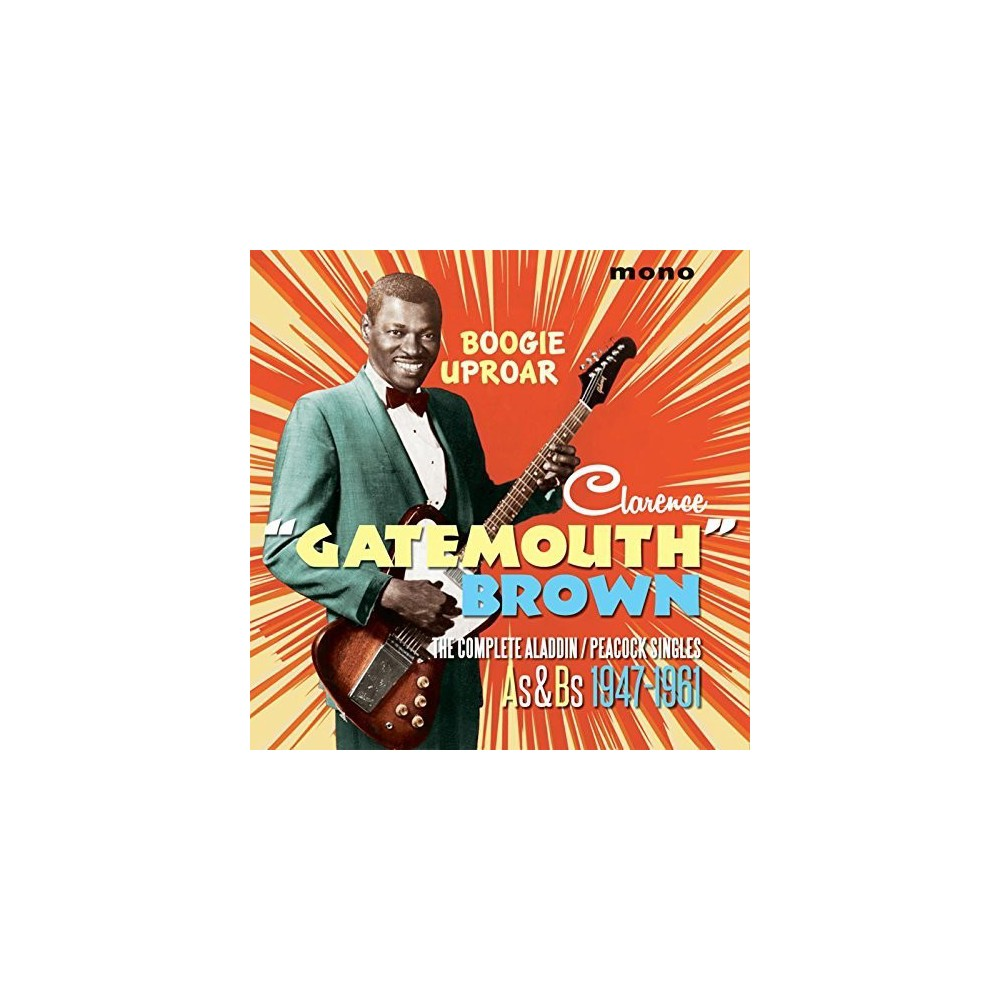 Clarence gat Brown - Boogie Uproar Complete Aladdin/Peacoc (CD)