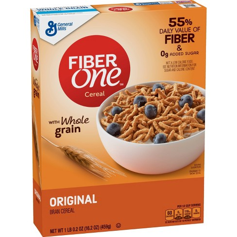 Fiber One Original Bran Breakfast Cereal - 16.2oz - General Mills - image 1 of 3