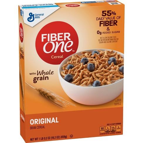 Fiber One Original Bran Breakfast Cereal - 16.2oz - General Mills - image 1 of 3