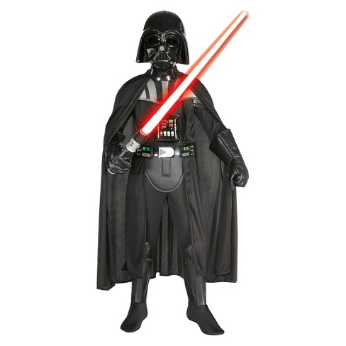 Star Wars Darth Vader Deluxe Boys  Costume- Small   Target e67850762