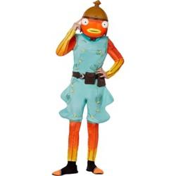Kids' Fortnite Fishsticks Halloween Costume Jumpsuit (with 2 Accessories)
