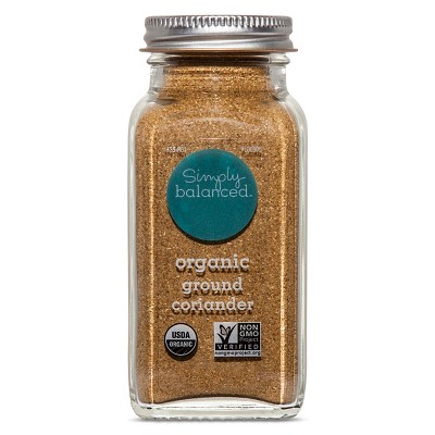 Organic Ground Coriander - 2.3oz - Simply Balanced™