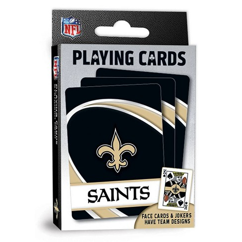 NFL New Orleans Saints Playing Cards - image 1 of 4