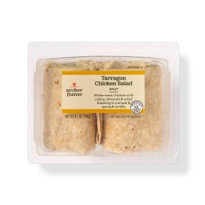 Tarragon Chicken Salad Wrap - 8.1oz - Archer Farms™