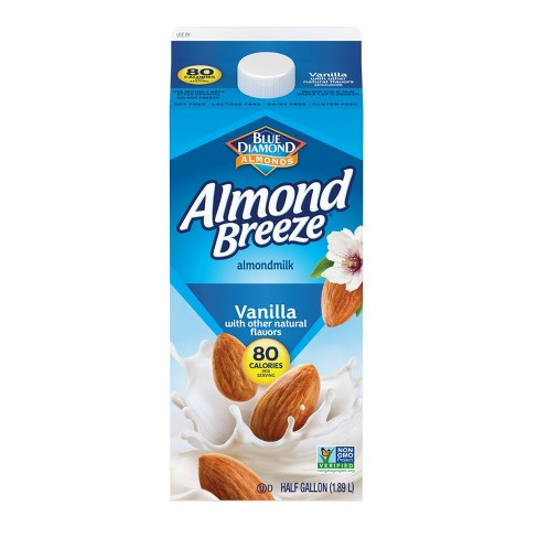 Blue Diamond Almond Breeze Vanilla Almond Milk - 0.5gal - image 1 of 1